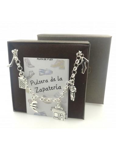 Pulsera Plata De La Zapateria