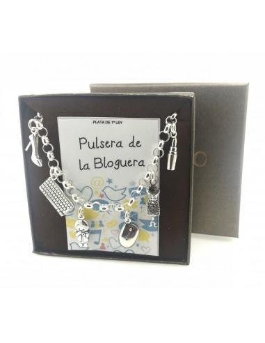 Pulsera Plata De La Bloguera