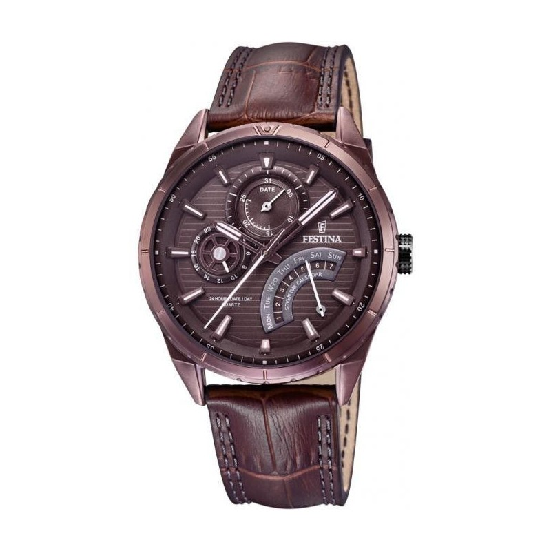 Festina Multifunción Brown