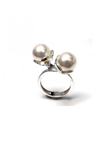 Anneau de perle de coquille