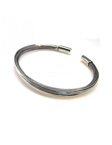 Bracelet En Fil D'Argent